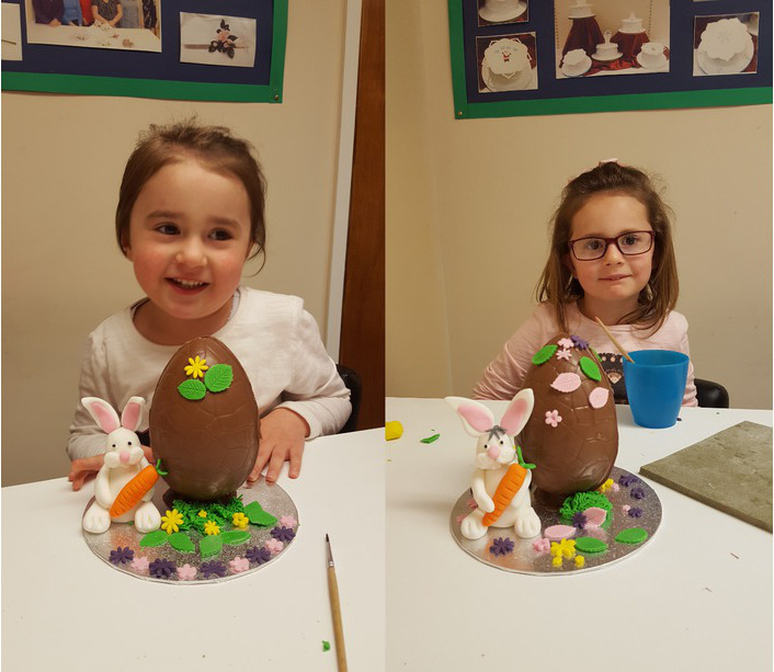 Easter egg making