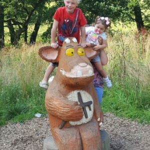 Dalby Forest - the Gruffalo