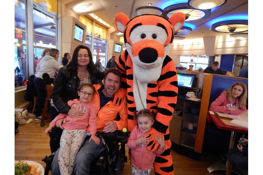 The family with Tigger