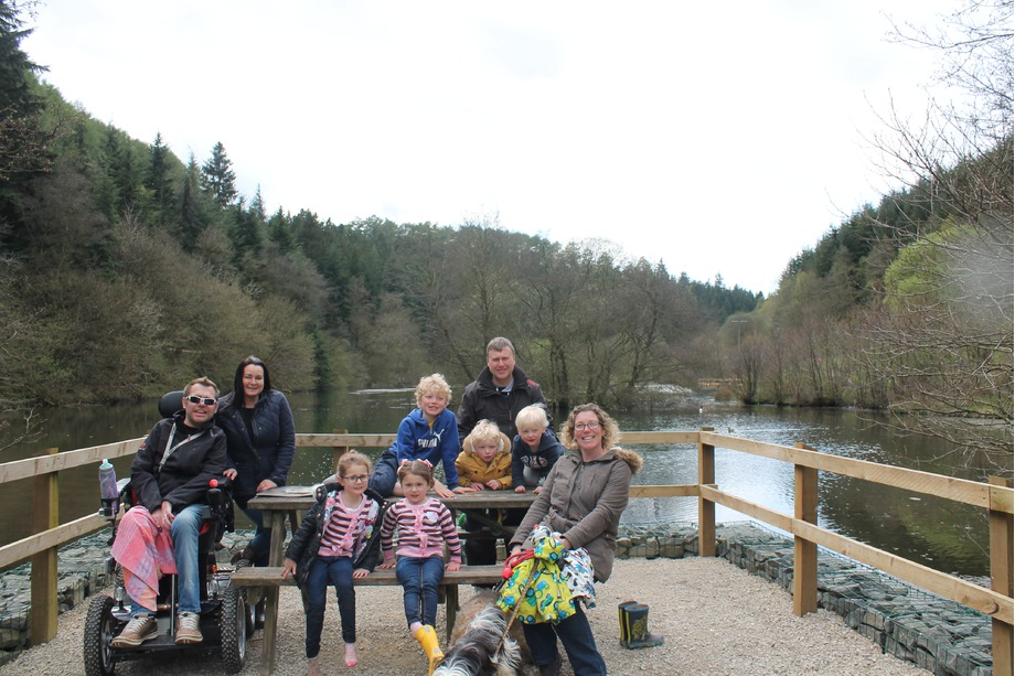 Group shot at Dalby Forest