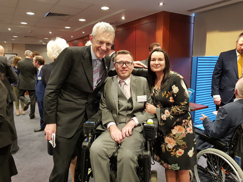 Jason & Liz with Jeremy Vine