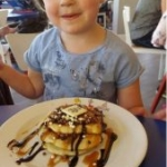 Poppy with Pancakes at Centre Parcs