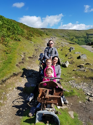 Tractor for four in the Dales