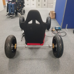 Electric Wheelchair mockup 1